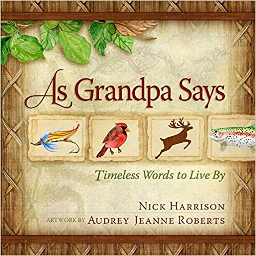 "Here is an endearing collection of stories, spun with bits of wisdom, to bless and guide the next generation. Full of timeless principles, this fine book encourages readers to learn how to live honorably, grow faithful, and do what's right. Grandpa uses some of the sayings of old to teach values anew. This handsome collection of wisdom pairs well with As Grandma Says and makes a great gift for graduates, new parents, and especially for the ""grands"" of the family to give to their loved ones."